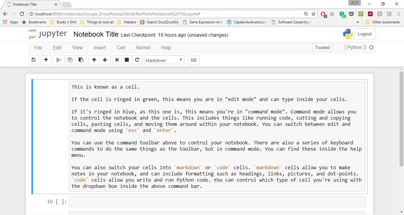 Python | ResBook Installation Directory